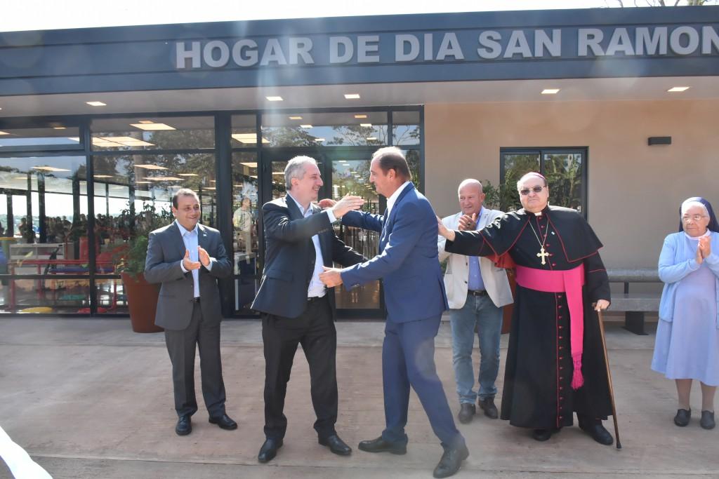 Iguazú: Passalacqua participó de la inauguración del remodelado hogar de ancianos San Ramón