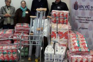 """Iplyc Social entregó donación a la Asociación Civil """"Voluntades"""""""