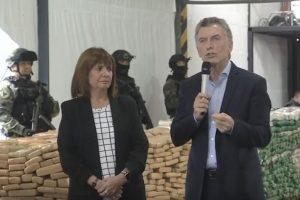 Mauricio Macri resaltó la lucha contra el narcotráfico: «Juntos, los argentinos somos capaces de hacer grandes cosas»