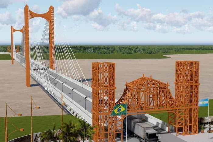 Brasil mete presión por el puente en San Javier: para agosto estará terminado el proyecto