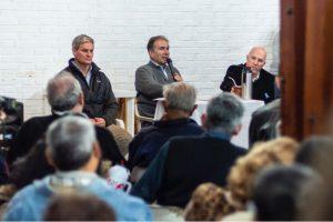 Schiavoni se reunió con un centenar de vecinos de Oberá para interiorizarse de su realidad