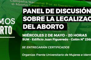 Se realizará un panel de discusión sobre la legalización del aborto en Posadas