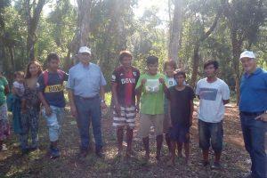Capacitaron a comunidades aborígenes en producción hortícolas