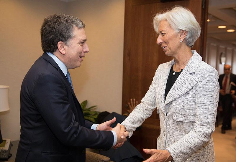 Dujovne se reunió con Lagarde y consiguió un «fuerte respaldo» de Estados Unidos
