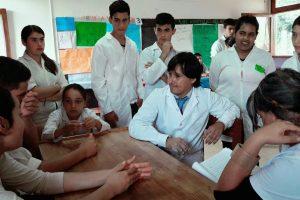 La secundaria rural mediada por TIC, de San Pedro realizó su primer feria deciencias escolar