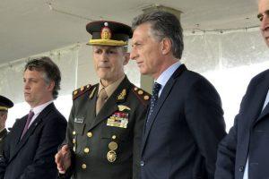 Macri aseguró que las Fuerzas Armadas deben dar «apoyo logístico a las fuerzas de seguridad»