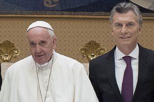 El Papa le pidió a Macri «una sociedad más justa, fraterna y solidaria»