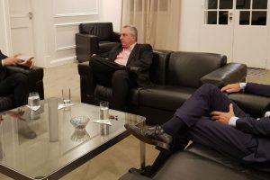 «Las dificultades del momento imponen racionalidad, sensatez y unidad», expresó Passalacqua tras reunión con Macri