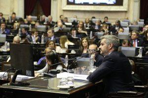 Peña reconoció la demora del artículo 10 y aseguró que buscarán resolver «el problema del FET»