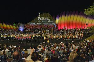 Las marimbas «misioneras» emocionaron en el cierre de Iguazú en Concierto