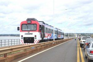 El tren Posadas-Encarnación circulará solo de lunes a viernes por un reclamo de Aduana
