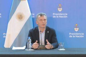 Macri: «La ley ha sido vetada, era una cosa anunciada»