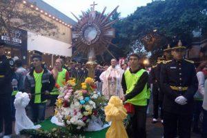 Celebraron la Solemnidad de Corpus Christi en Posadas