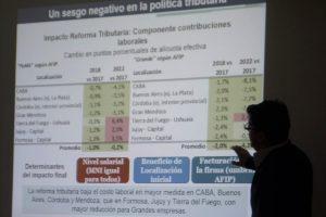«La reforma tributaria es contraria a las Pymes y a favor de Buenos Aires»