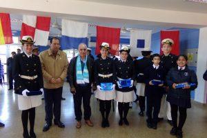 """El Liceo Storni realizó la entrega de premios del Concurso Malvinas Argentinas""""La llama eterna"""""""