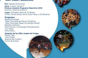 El sábado se realizará el fogón cultural de San Juan en la bahía El Brete de Posadas