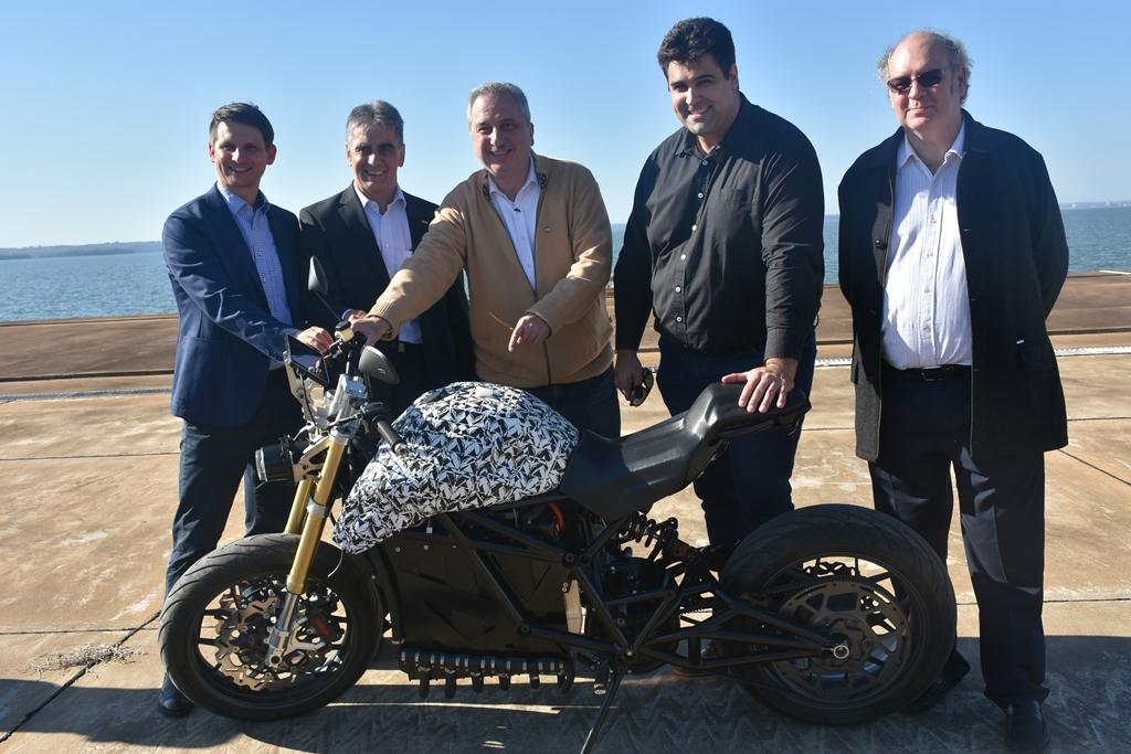 Realizaron pruebas del prototipo de moto eléctrica que se fabricará por primera vez en Misiones