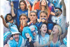 Las tapas del sábado 30/6: La previa de Argentina y el récord del dólar