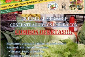 Ofertas del mes de junio delMercado Concentrador Zonal de Puerto Rico