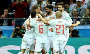 Mundial Rusia 2018: Con lo justo, España ganó y lidera el Grupo «B»