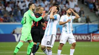 Mundial Rusia 2018: Argentina decepcionó ante Croacia y peligra la clasificación
