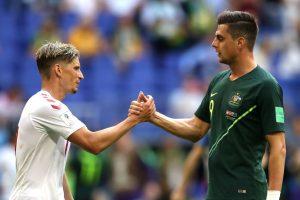 Mundial Rusia 2018: Dinamarca y Australia quedaron a mano