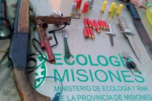 Secuestraron redes, botes y destruyeron un campamento de cazadores furtivos en Urugua-i