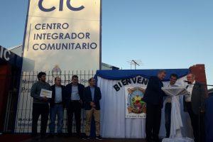 Se inauguró el primer Centro Integrador Comunitario de Colonia Wanda
