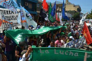 En Misiones se suman a la jornada de protesta nacional, reclamando por el subsidio interzafra