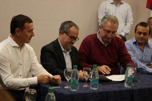 Passalacqua firmó convenios con Nación y municipios para combatir las drogas