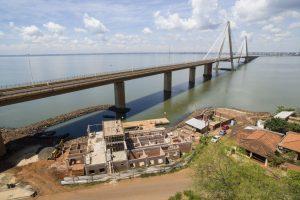 Encarnación inauguró un puerto de lanchas y sueña con que vuelva el servicio a Posadas