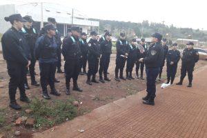 Unos 800 efectivos hacen prevención y dialogan con vecinos en barrios de Posadas