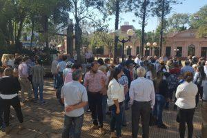 En Misiones también se recordó a las victimas del atentado a la AMIA