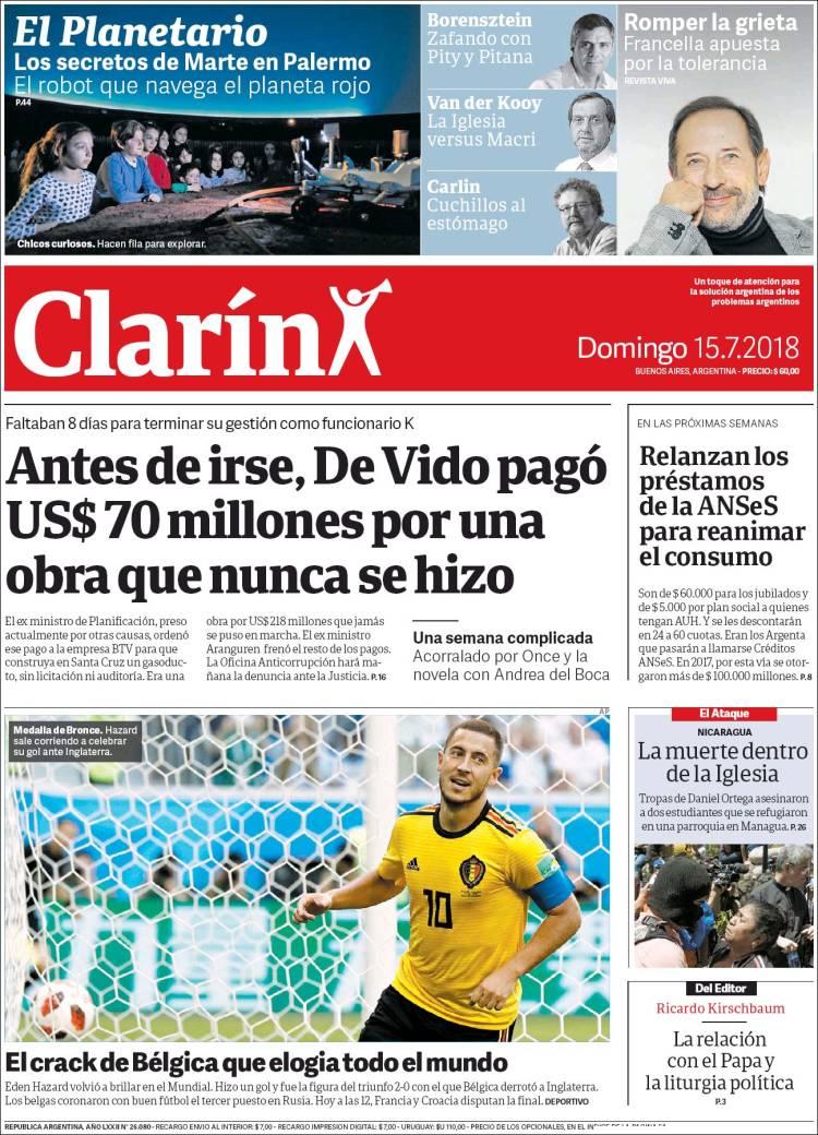 Las tapas de los diarios del domingo: La votación en el Senado del proyecto del aborto y la vuelta de los préstamos Argenta, con otro nombre