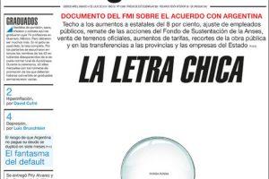 Las tapas de los diarios del 14/7: La letra chica del acuerdo con el FMI