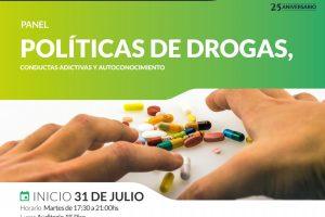La UCP invita al panel «Políticas de drogas, conductas adictivas y autoconocimiento»