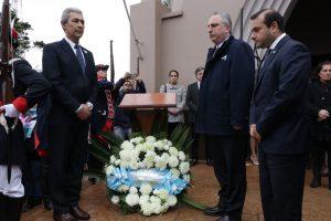 """""""Hoy venimos a decir gracias"""", dijo Passalacqua en acto por la Independencia de la patria y los 90 años de Oberá"""