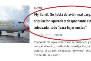 Tal como anticipó Economis, Flybondi reconoció que la falla en Iguazú fue porque «no se hizo la distribución de la carga correctamente»