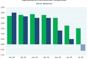 Por el dólar más caro y la menor actividad, el intercambio con Brasil se estabiliza