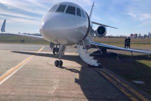 San Fernando: un avión terminó «enterrado» por falta de infraestructura
