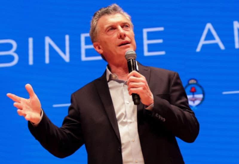 Macri: «Sin Cambiemos, la tormenta hubiera generado una crisis como la del 2001»