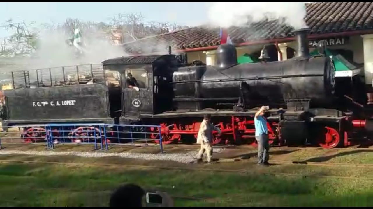 Avanzan las gestiones para que funcione un tren a vapor turístico entre Posadas y Encarnación
