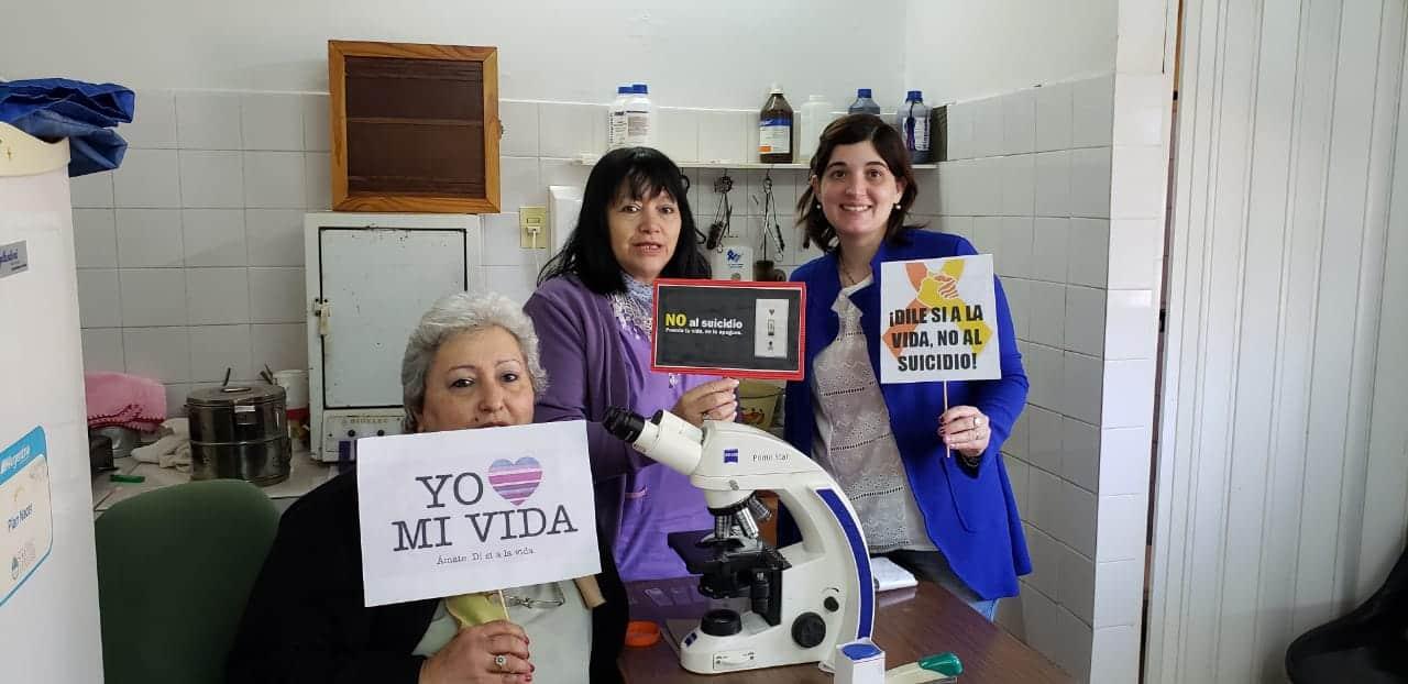 Se realizaron actividades de concientización para prevenir el suicidio en Posadas y Concepción de la Sierra