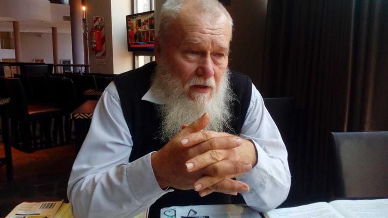 Hugo Sand, bisnieto de una pareja de inmigrantes de Colonia Finlandesa