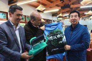 Inversores chinos vinieron a conocer las Cataratas del Iguazú