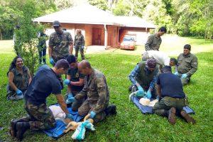 Guardaparques se capacitaron en primeros auxilios en la selva