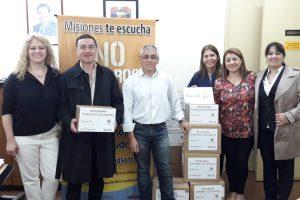Salud Pública recibió donación por parte de OSDE y B'nai B'rithArgentina