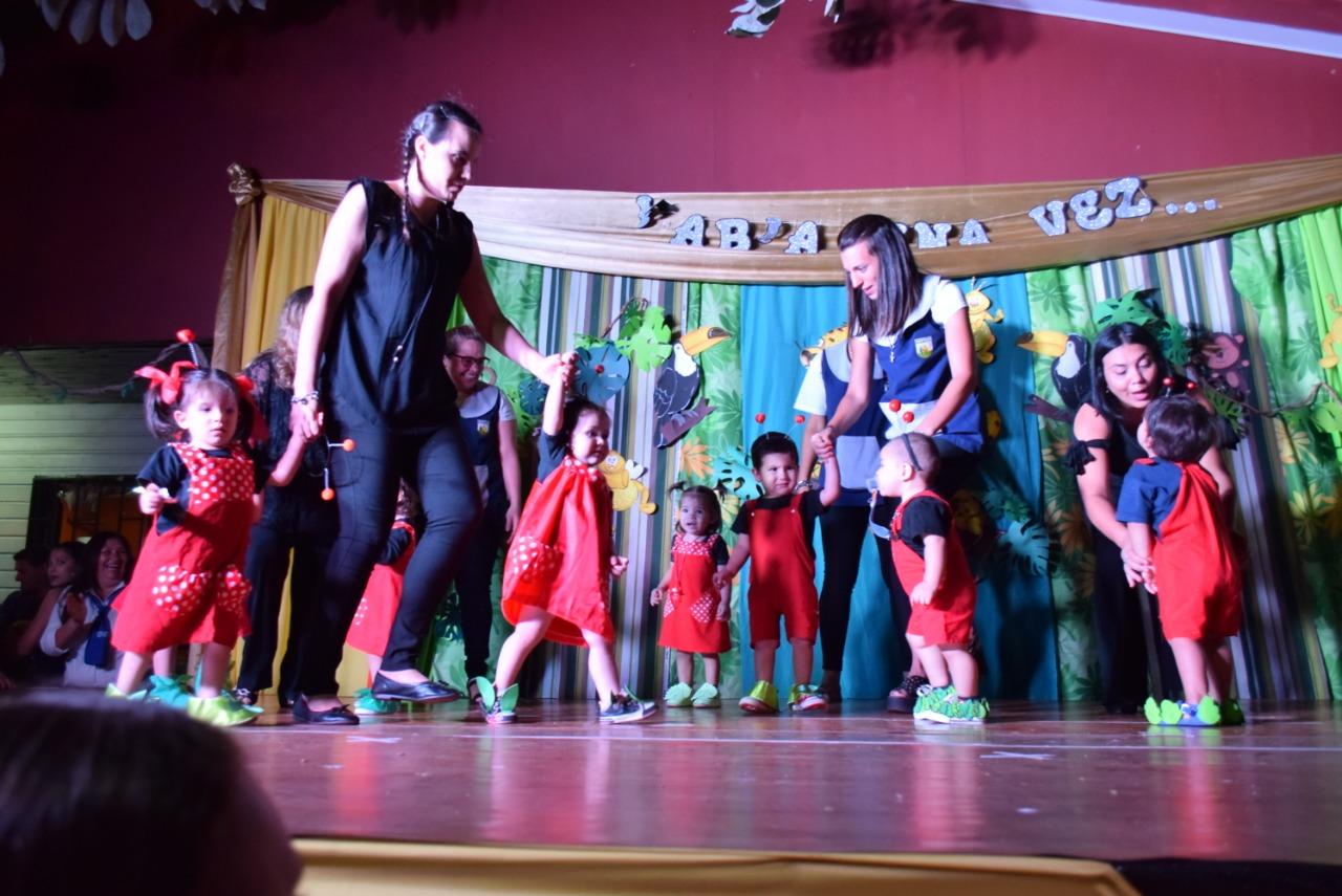 Gran cierre del año en el jardín maternal «Casa del niño» del IPS