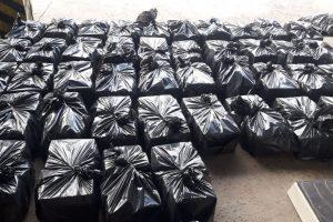 Corrientes:Decomisan más de 769 kilos de marihuana