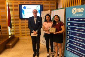 El desarrollo tecnológico se adjudicó el Premio JovenEmpresario Misionero